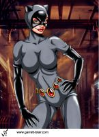 Catwoman 7 by Garrett Blair by Mythical-Mommy
