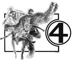Fantastic Four by ChristopherStevens