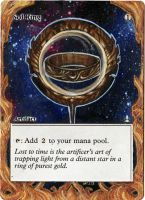Magic Card Alteration: Sol Ring 12-19 by Ondal-the-Fool