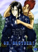 'Oh, Brother!' Cover Volume 1 by jijikero