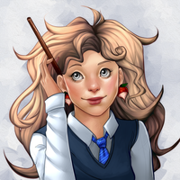 Luna Lovegood by andarix