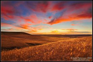 Prairie Sunset by juddpatterson