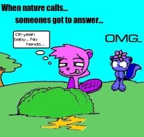 When Nature Calls, Baby by Sandwich-Anomaly