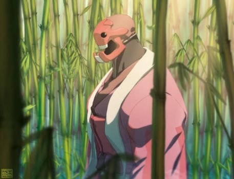 deep within a bamboo field by theCHAMBA