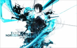 Wallpaper - Yato Noragami by Jess1810