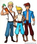 The Cast of The Legend of Jamie Roberts by KelciD