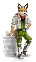Project SFR : Fox McCloud by ALA1N-J