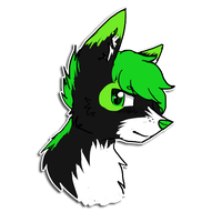 Stabby [5pt Headshot] by PurryProductions-Inc