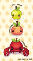 crabapple evolution by inki-drop