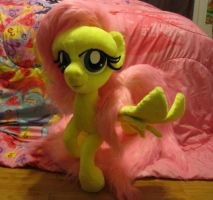 My Little Pony Fluttershy Plush by Bronies4ever. by nidsaw80
