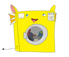 So I'm a washing machine by Pyritie