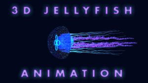 ANIMATION - 3D Jellyfish by dye-the-eye