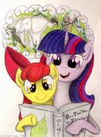 Story Time With Twilight (Request for Brony250) by TheFriendlyElephant