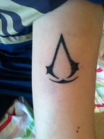 Assassins Creed Tattoo 1 by zezejoker