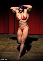 Bodybuilding Invitational-Samantha by spiresrich