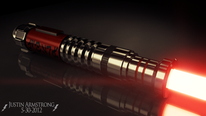 Sith Lightsaber Design 3 by electrofilms