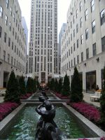 NY's Rockefeller Center by rioka