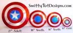 Shield Sizes Available by Smitty-Tut