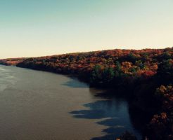 Starved Rock Autumn by audreyhepburnluv97