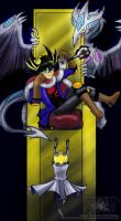 KingYusei - Jump for it Jack by slifertheskydragon