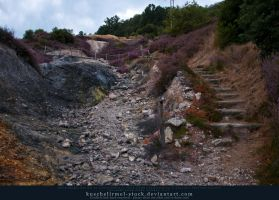 Stairs and Stones 04 by kuschelirmel-stock