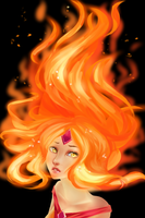 Flame Princess by RAiMUart