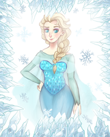*.:Queen Elsa:.* by Acidiic