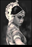 Odissi dancer by Netjeret