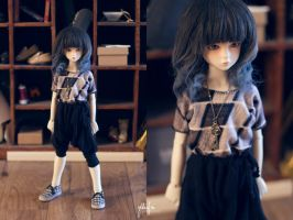 5th Atelier: Mosaic Shirt + Harem Pants Petit by Ylden