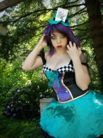 Miss Hatter by wolfgirl365