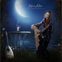 Here Alone by flina