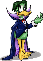 Duckula by Feniiku