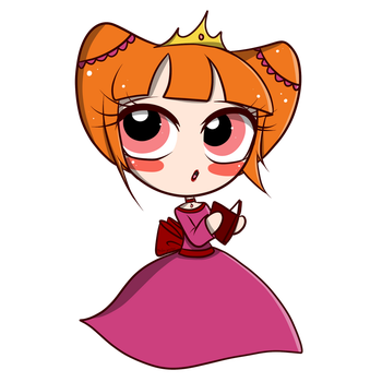 Chibi Blossom - Diary of princess by G3N3