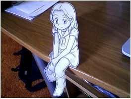 Paper Child: Bored by Pimmy
