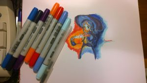 First Copics! Feat. Cassedie by geek96boolean10