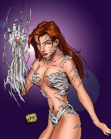 My Witchblade by wayner8088