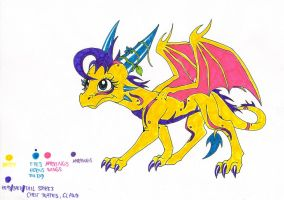 Dragon Adoptable - SOLD by IcelectricSpyro