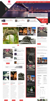 New Maxx WordPress blog theme by sandracz