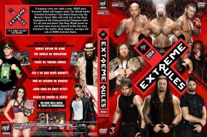 WWE Extreme Rules 2014 DVD Cover by Chirantha