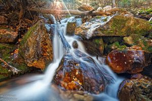 The Many Rocks of a Watefall by mjohanson