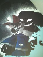 Lavender town on my wall by Yitty