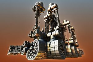Steam Roller by HalTenny
