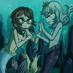 Hello, Fellow Mermaid by Icy-Snowflakes