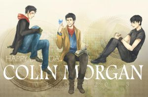 Colin Morgan by Zeiruin