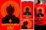 Gatotkaca mark-4 red gold t-shirt preview by IshaMuhammad