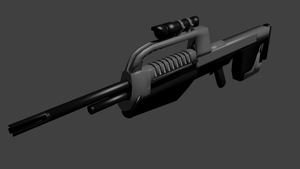 BR 55 Battle Rifle by Warrior-Silverbolt