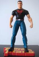Superboy action fig -2- by UltimeciaFFB