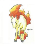 Kanto no. 078 Rapidash by Randomous