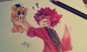 [Foxy x Goldie] WHAT HAPPENED?! by Nadi-Chan