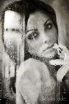 Self Portrait - Droplets by larafairie